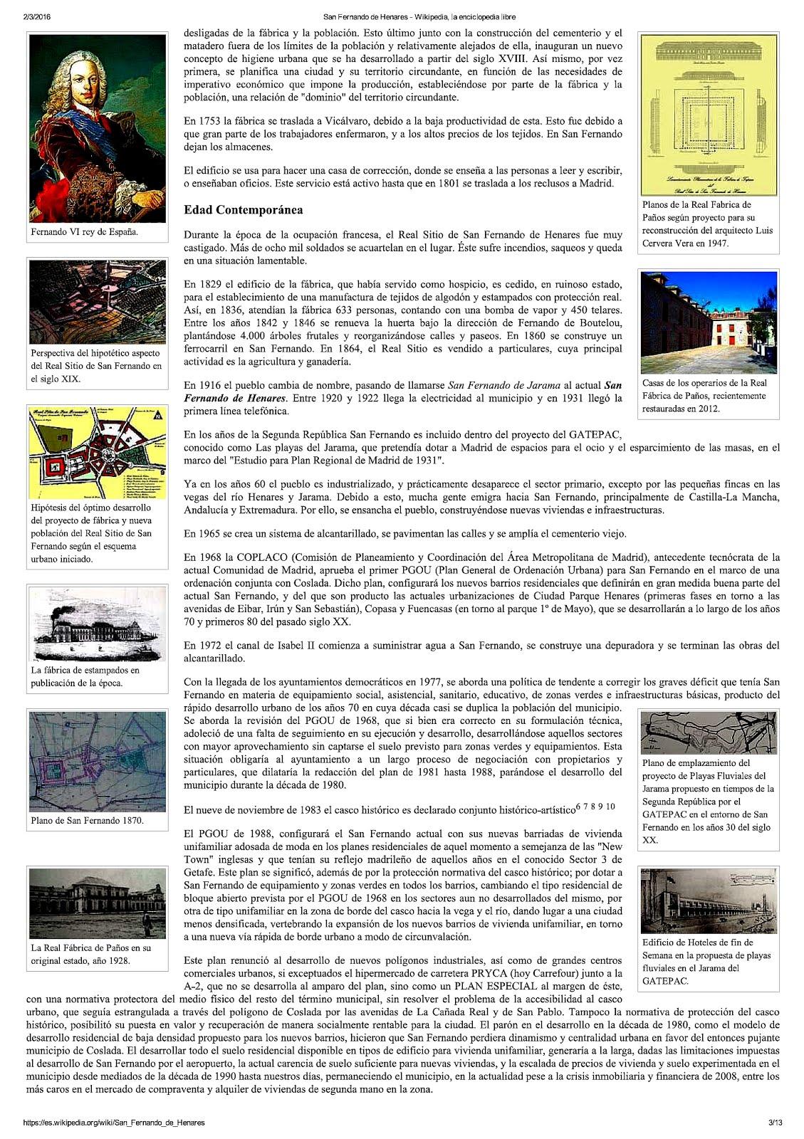 San Fernando en Wikipedia 2016.3
