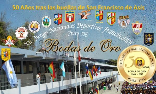 XII Juegos Nacionales Deportivos Franciscanos