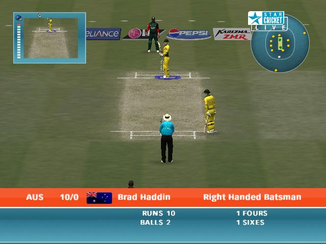 Icc cricket world cup 2011 patch screen 1