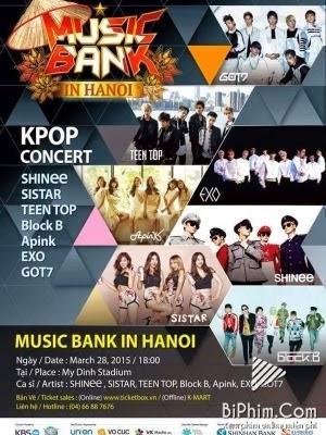 Phim Music Bank in Hanoi
