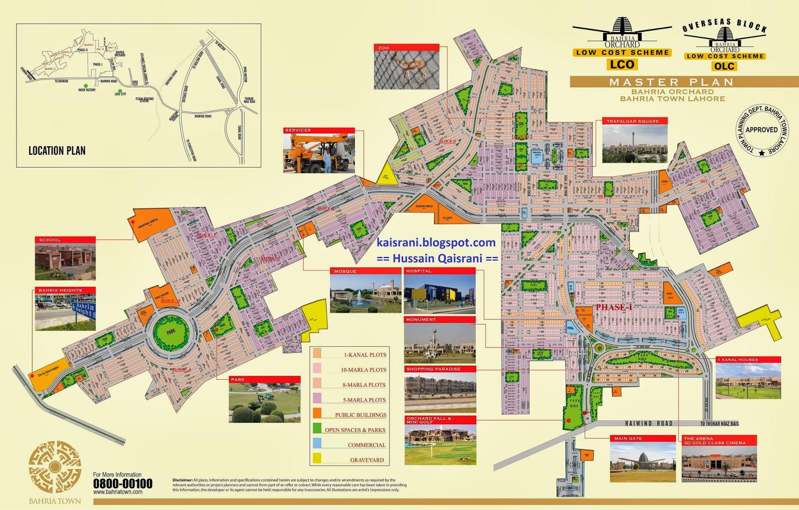 Hussain Kaisrani: Bahria Town Pvt. Ltd. Latest Projects: Bahria Town ...