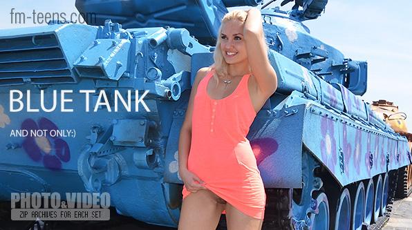 FM-Teens8-11 fm-40-78 Angel - Blue Tank 03100
