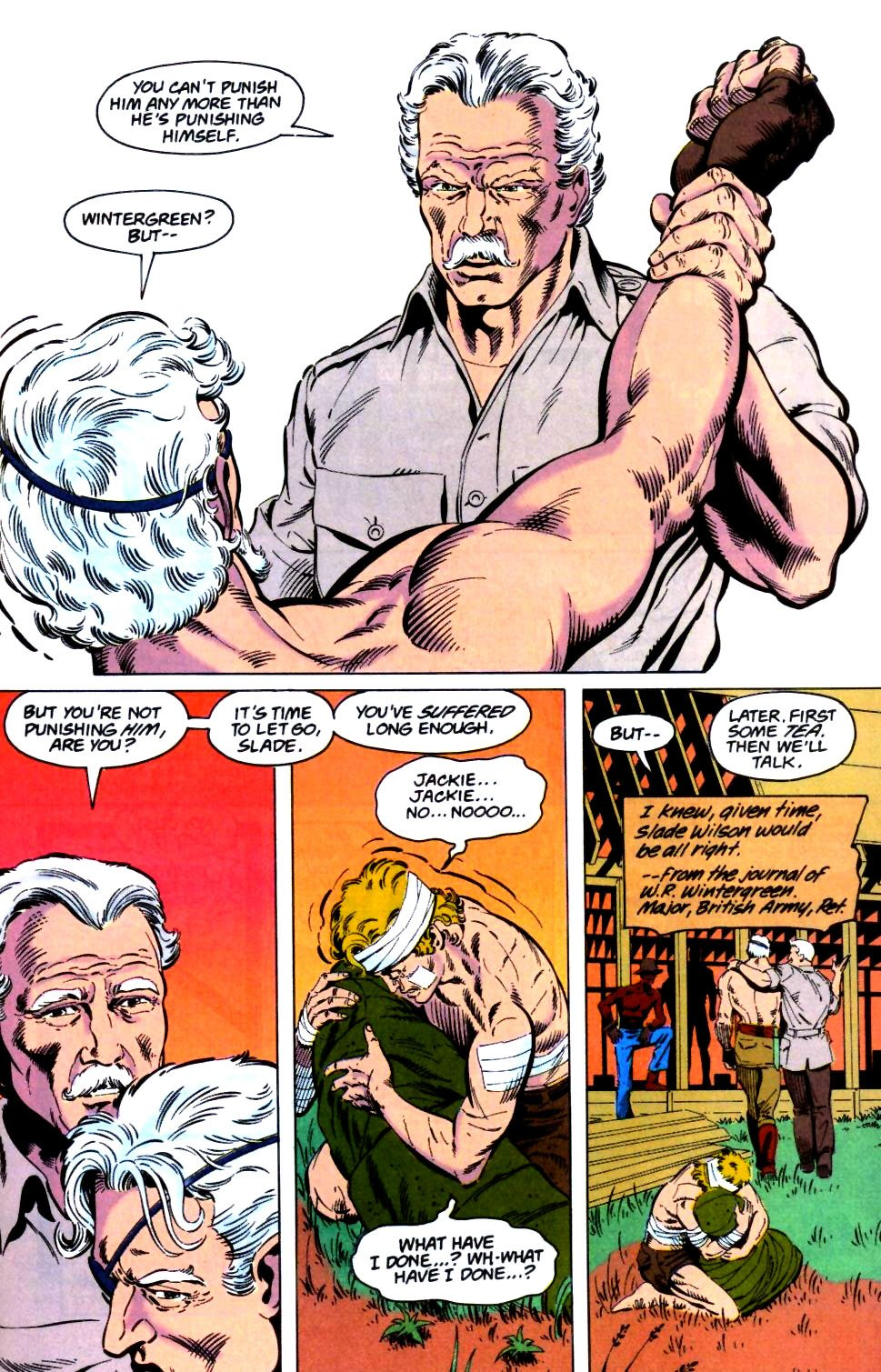 Deathstroke (1991) Issue #26 #31 - English 24