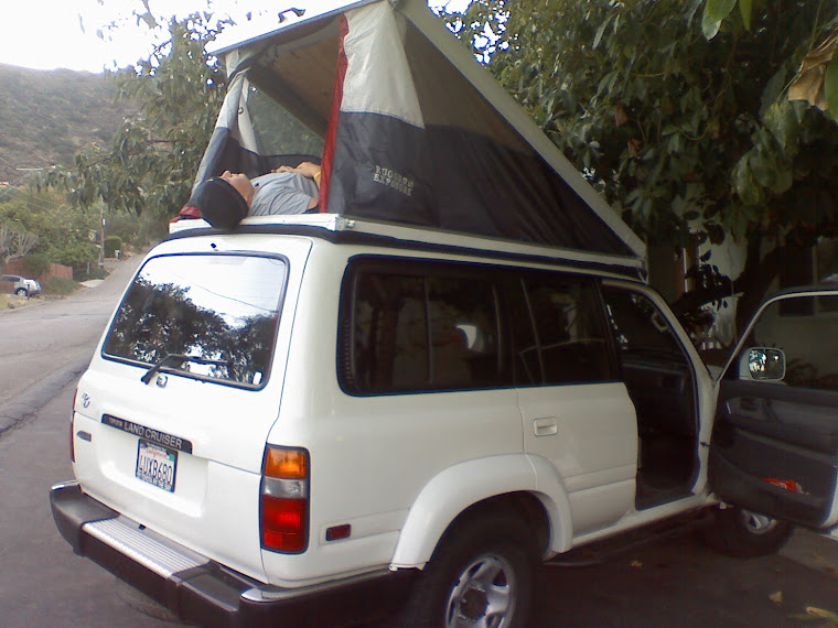 80 series pop top tent camper