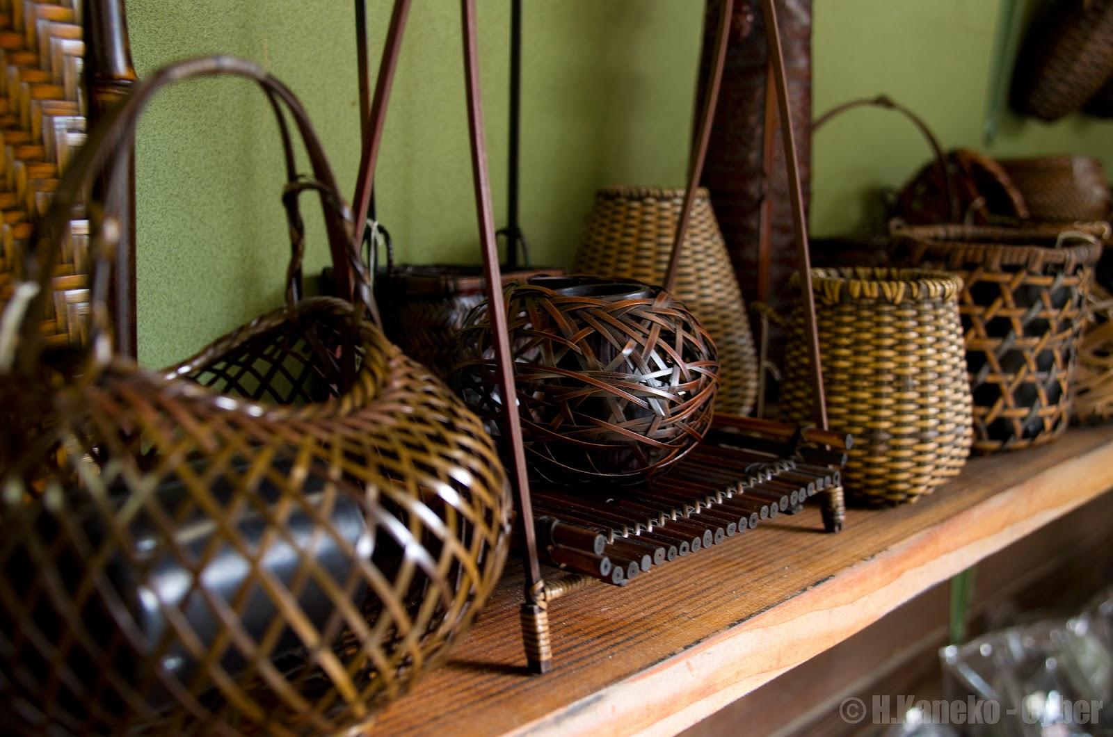 竹細工の土産物