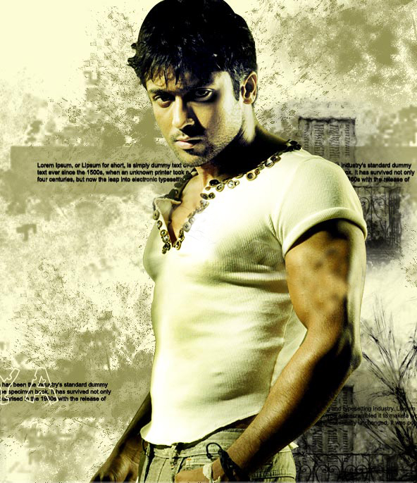 Actor Surya Body