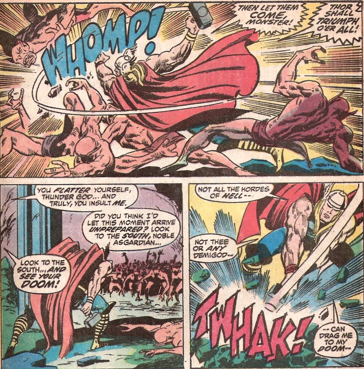 bronze age babies thorsday thrills the mighty thor 205
