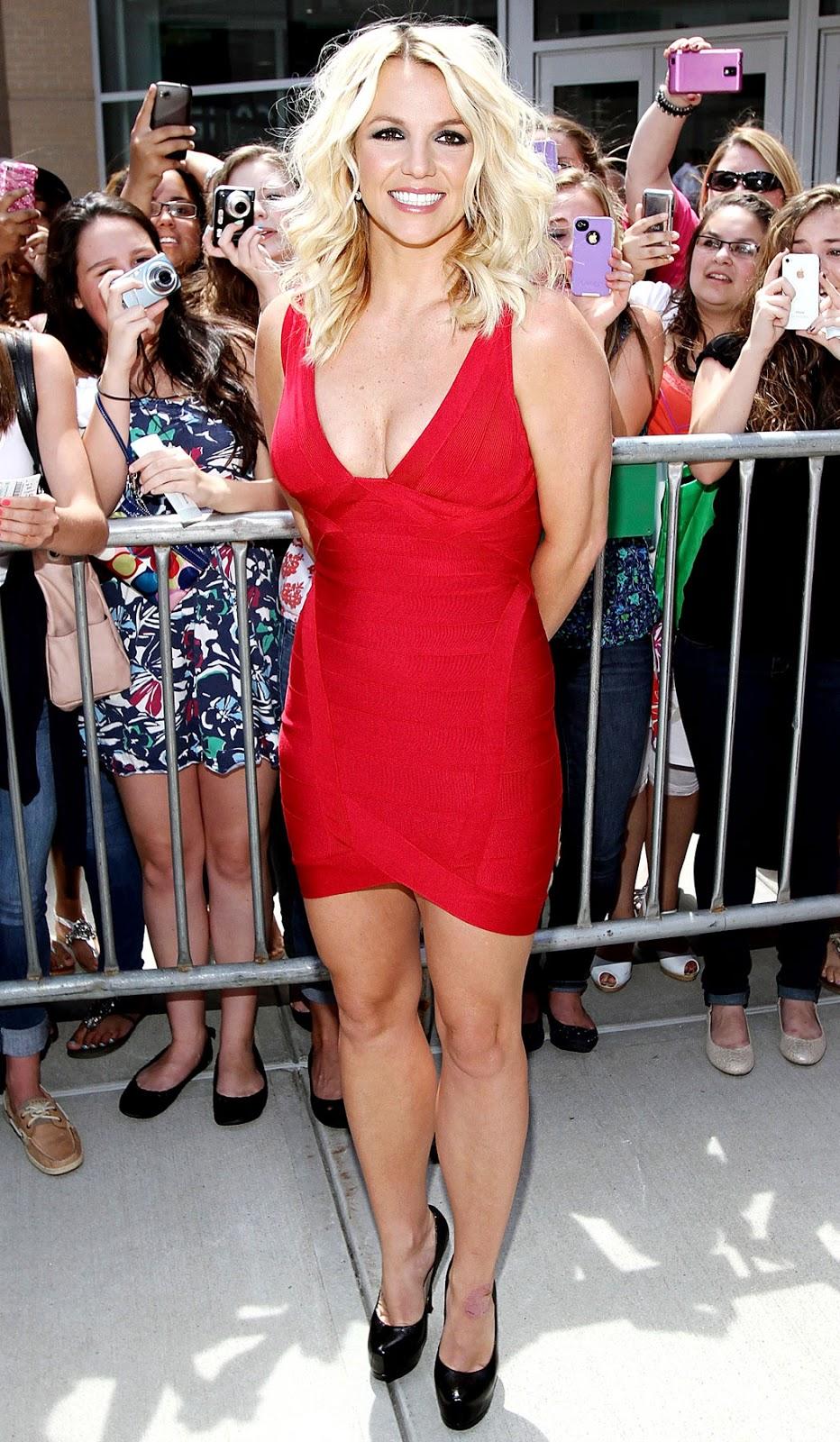 Britney Spears: Hot Britney Spears Dress