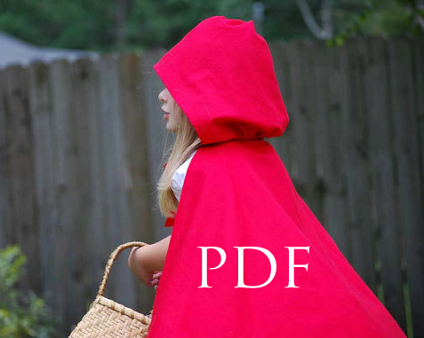 Red Riding Hood Cape Pattern - SCC Mag