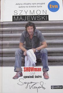 okładka ksiażki Showman czyli spowiedź Świra Szymon Majewski