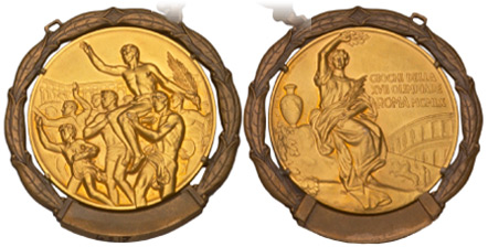 Medal Design Olympic Rome 1960