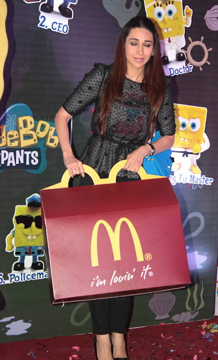 Karishma Kapoor in black dress - Karishma Kapoor in black at Happy Meal Launch