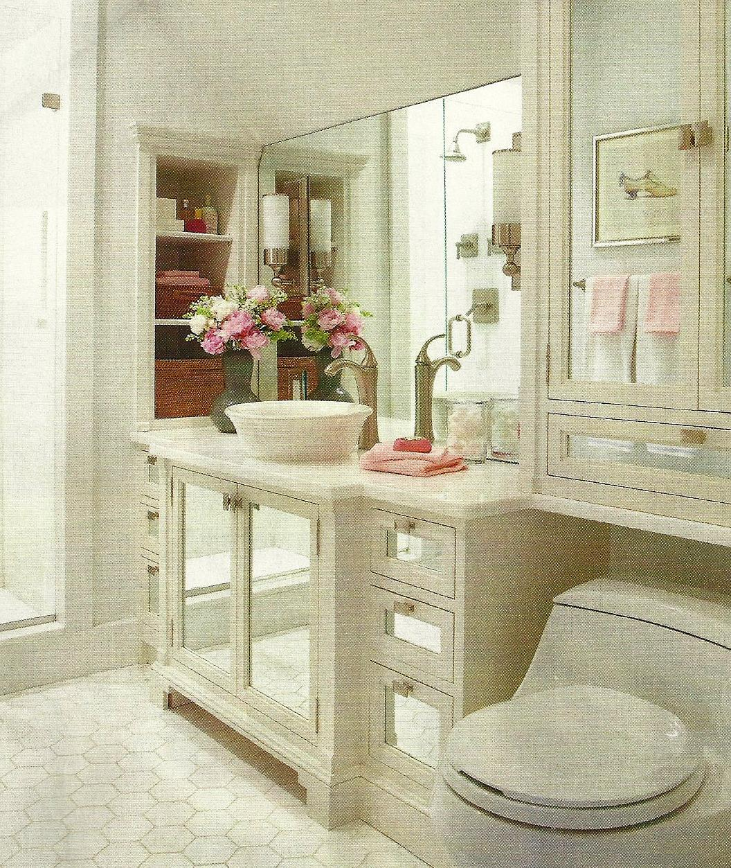 White Shaker Bathroom CabiDesign