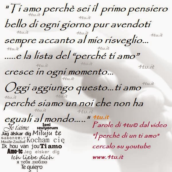 frasi d'amore video