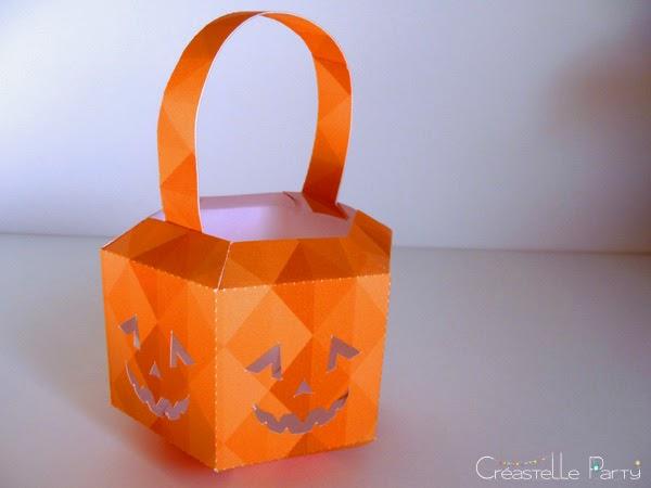 DIY halloween pumkin lantern - lanterne citrouille halloween