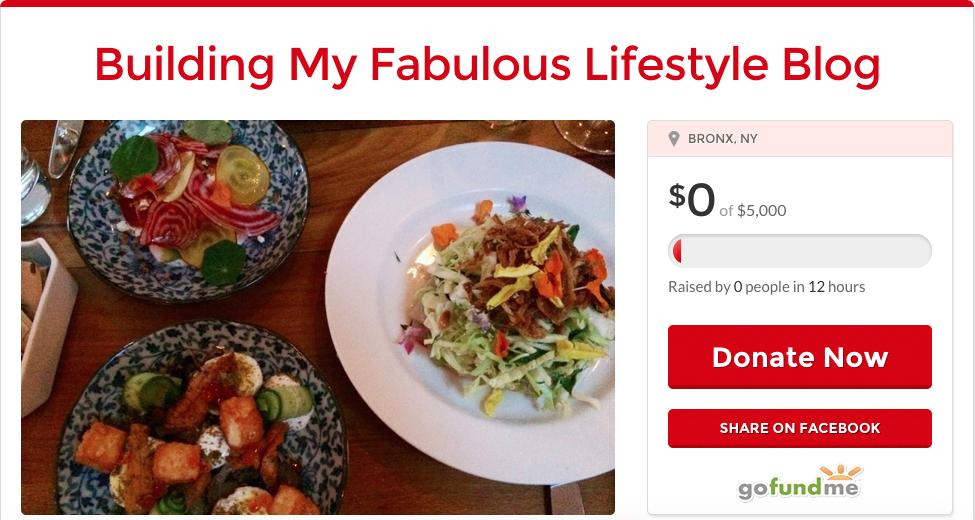Christopher Stewart, Eating Fabulously, blog, GoFundMe,