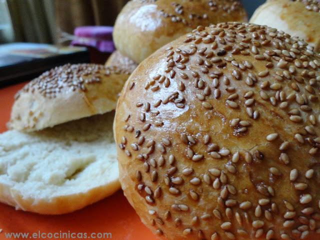 Pan de hamburguesas