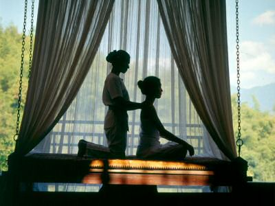Balinese massage in the Sembunyi Spa