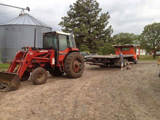used International 1086 tractor parts