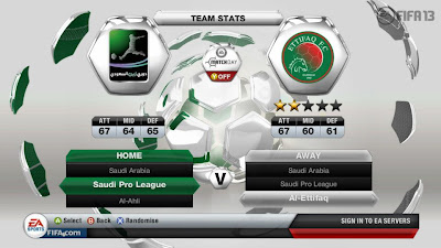 FIFA 13 - Saudi Arabian Premier League - Al-Ettifaq