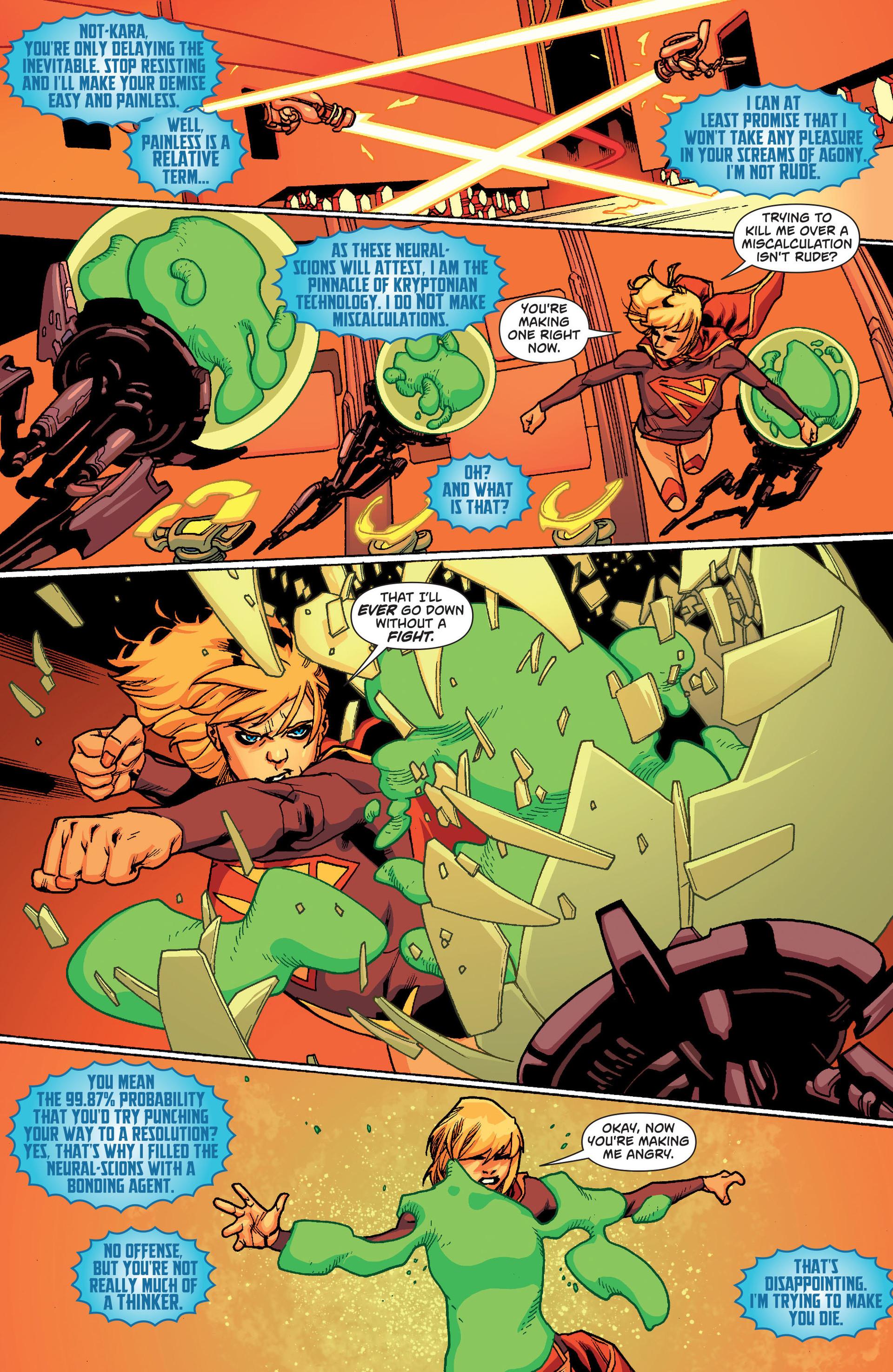 Supergirl (2011) Issue #20 #22 - English 10