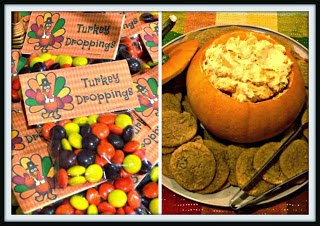 http://timeforseason.blogspot.com/2013/10/pumpkin-dip-and-turkey-poo.html