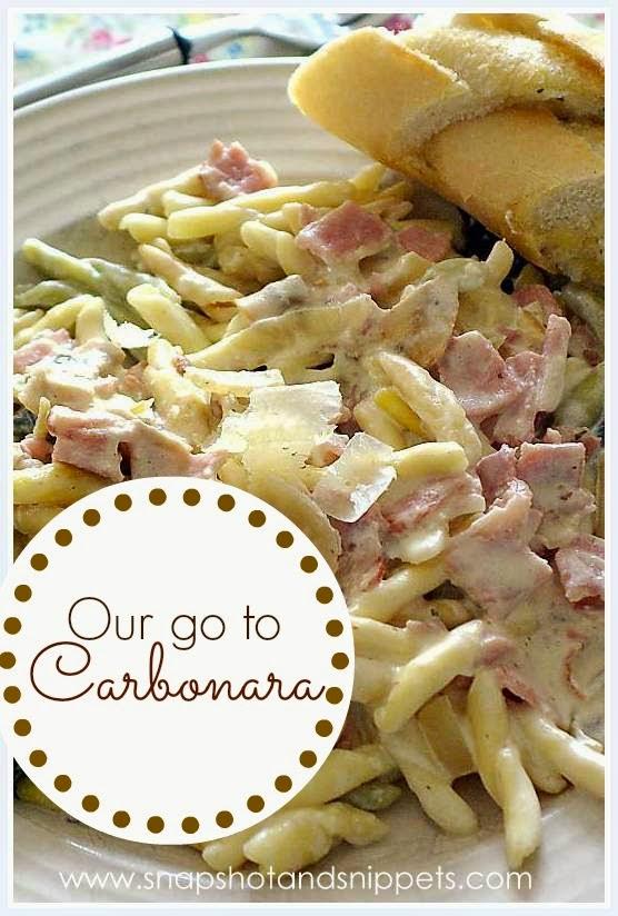 Our go to Carbonara