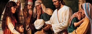 curou+o+cego - Os Milagres de Jesus