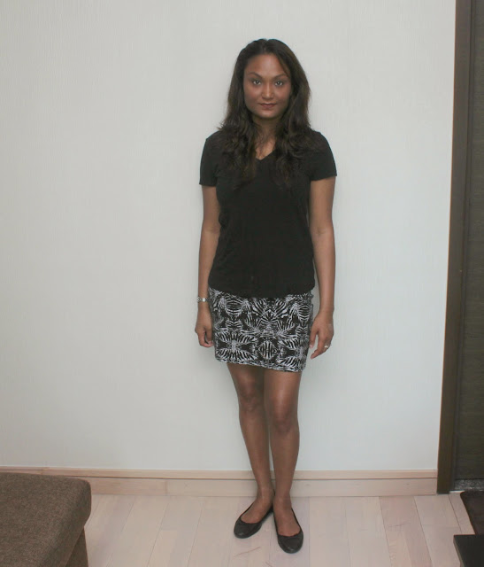 Outfit Of The Day - Mini Skirt