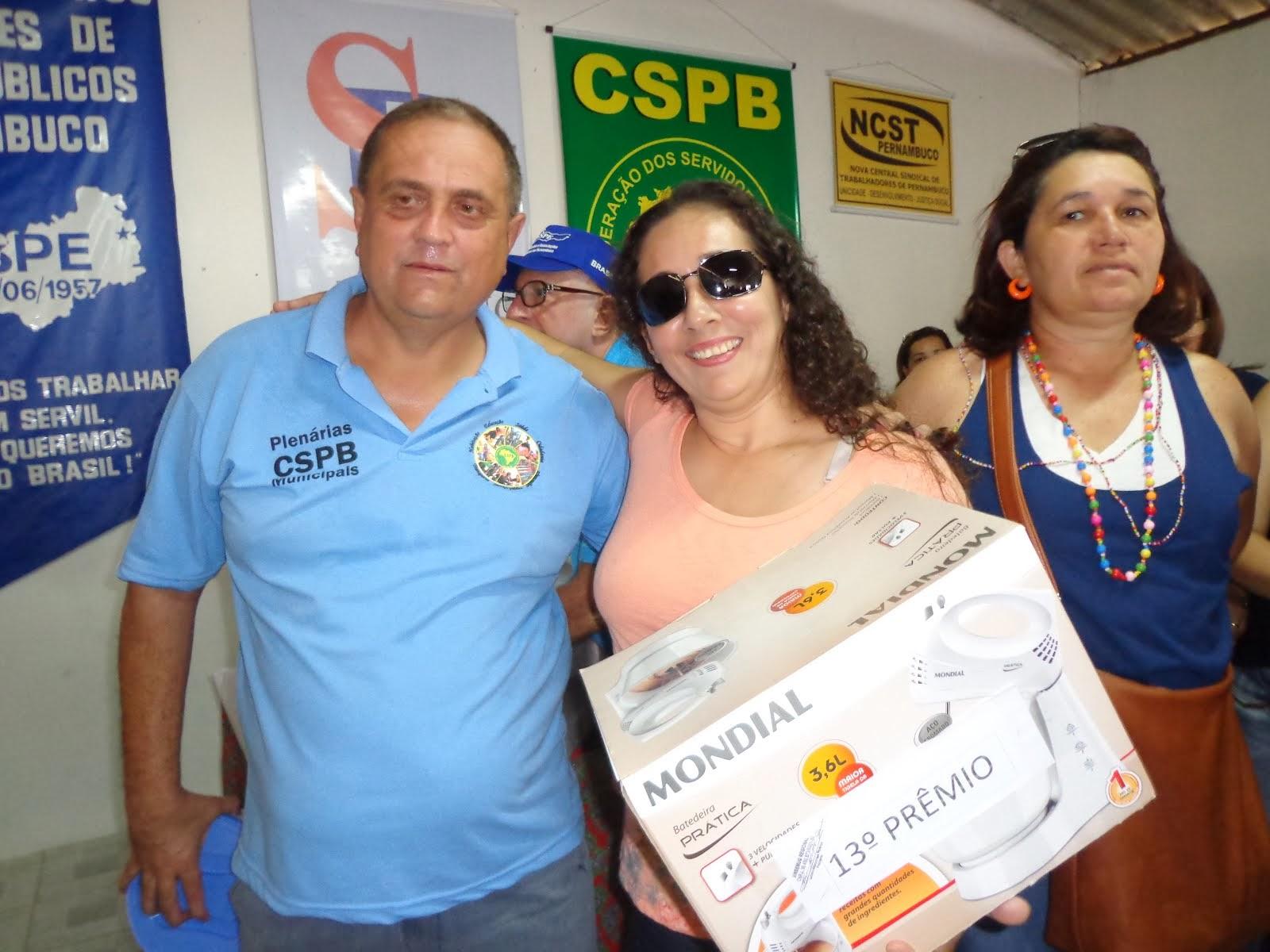 GANHADOR 13º PRÊMIO FESTA DO SERVIDO EM 2013