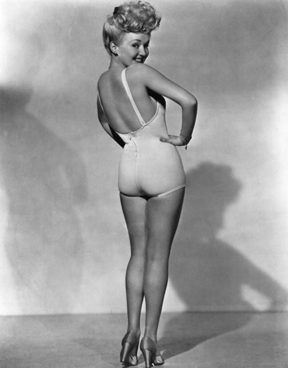 Classic Hollywood Beauties: Betty Grable's Million Dollar Legs