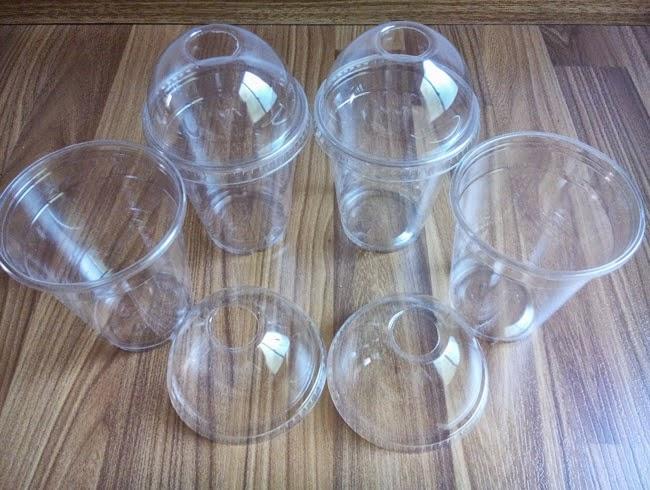 cốc nhựa nắp cầu giá rẻ