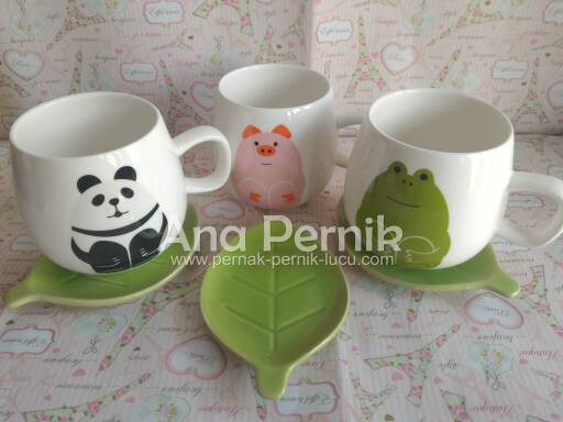mug; mug keramik; mug murah; mug keramik murah; gelas mug cantik; gelas mug unik; tableware; casual tableware; tableware animal series