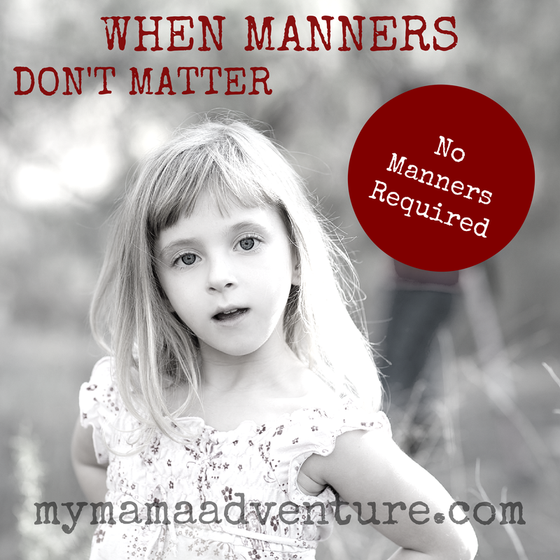 When Manners Don't Matter - sexual abuse awareness, bullying, staying safe, teaching manners - My Mama Adventure