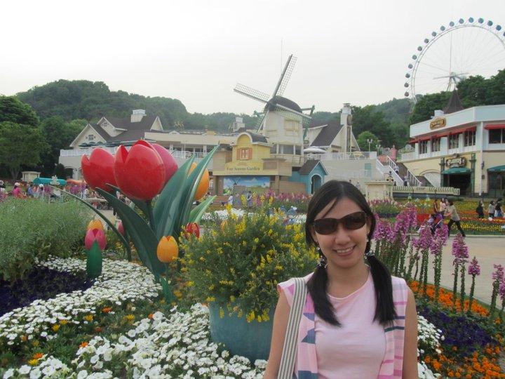 South Korea Seoul Everland Four Seasons Garden