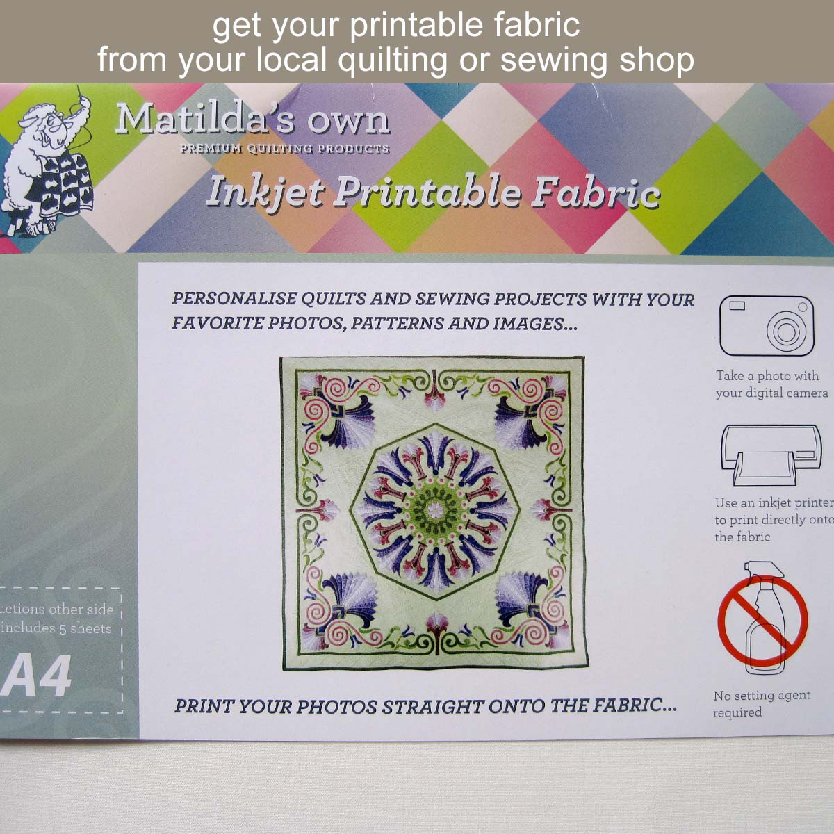 Fabric Craft Labels