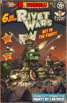 Artwork from Rivet Wars