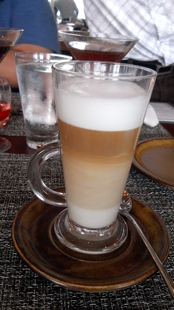 cowrie grill feature, coffee, cafe latte,