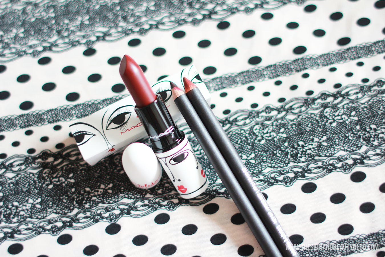 MAC Isabel & Ruben Toledo Sin Lipstick Review & Swatches