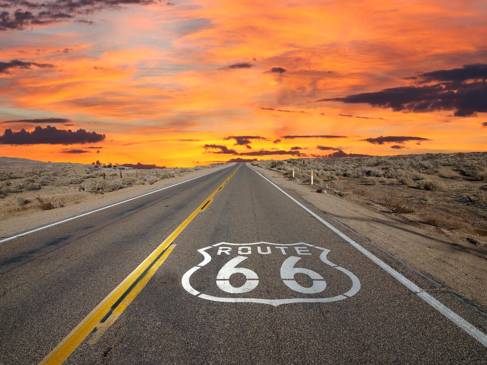 highway 66 or u s route 66 is a major u s highway created in 1926 the west end of the highway merges into u s 101 santa monica california