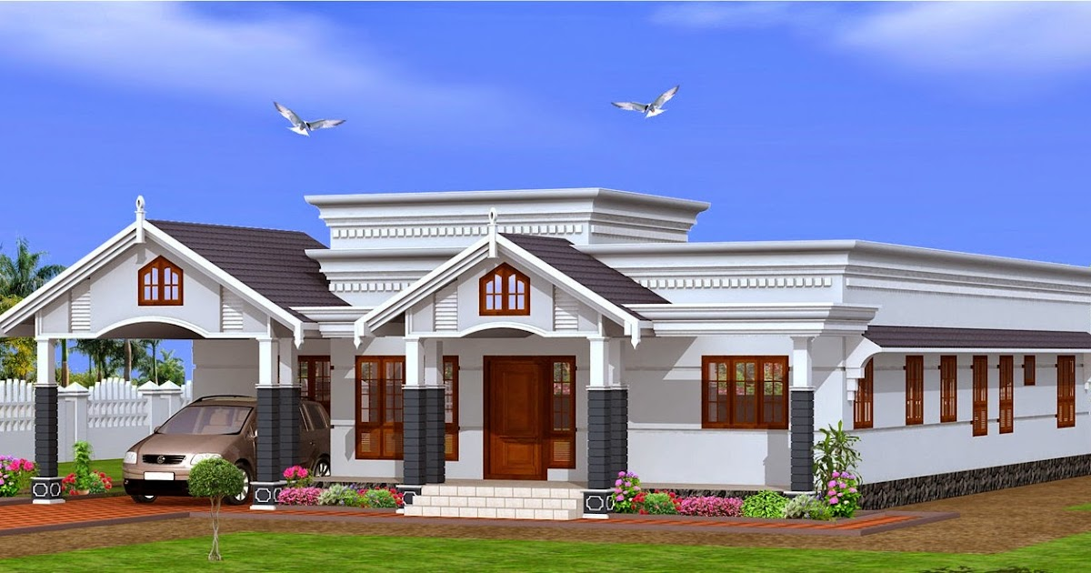 Single floor house plans kerala 2015 house design for Single home design