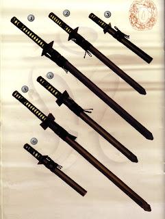 espadas ninjas