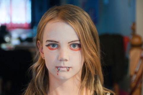 De klas van Meester Maarten: voorbeelden schminken halloween Computermeester