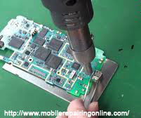 soldering damaged USB charging port