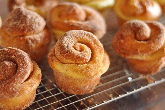 kugelhopf breakfast rolls via theKitchn