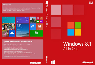 Windows 8.1 AIO 20 in 1 Integrated December 2013 (x86/x64) Full Version