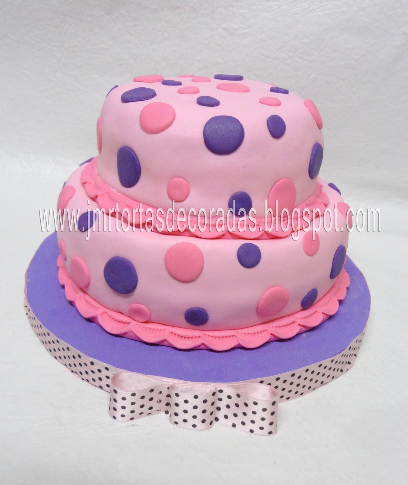Torta Con Lunares
