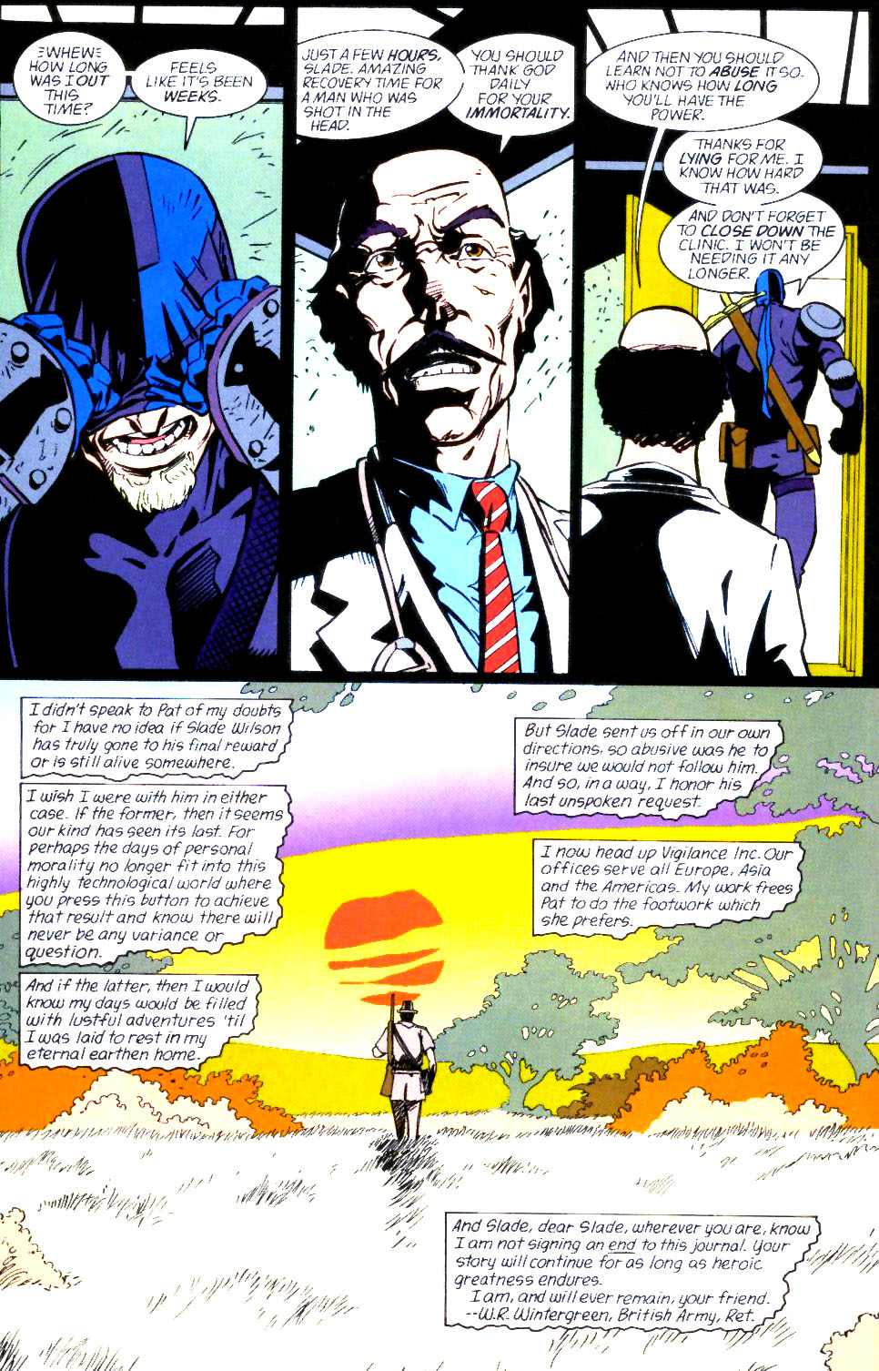 Deathstroke (1991) Issue #60 #65 - English 23