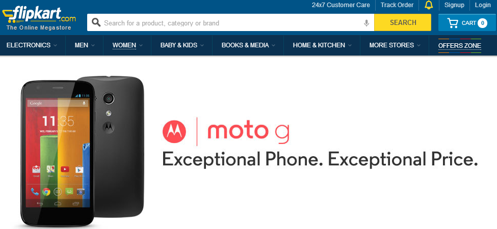 Motorola's Moto G Smartphone Launches in India