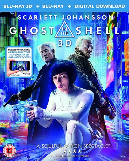 Ghost in The Shell 3D (La Vigilante del Futuro 3D) (2017) m1080p BDRip 3D Half-OU 10GB mkv Dual Audio DTS-HD 7.1 ch
